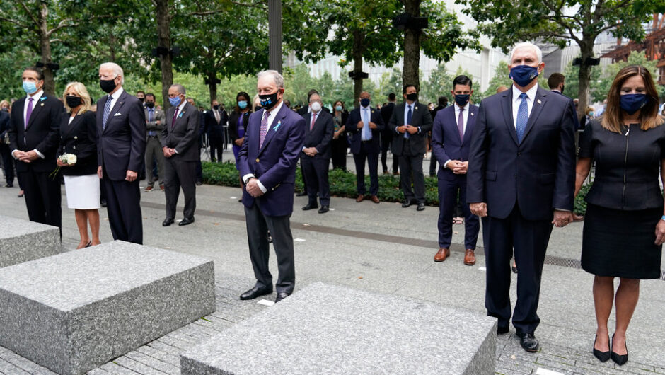 2020 Election Live Updates: With 9/11 Memorials Transformed by the Virus, Biden and Trump Honor the Dead