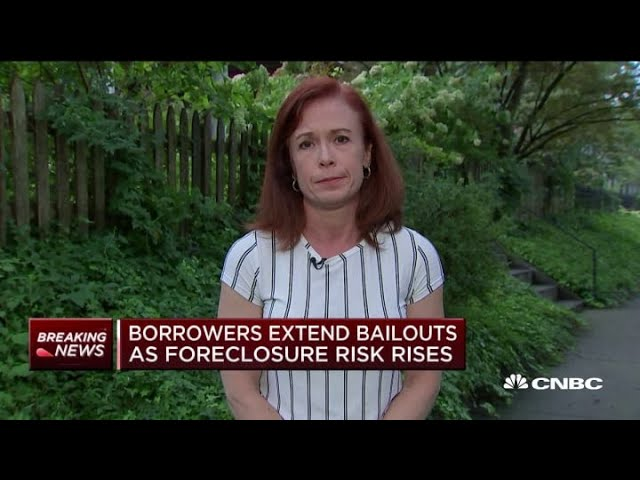 Borrowers extend coronavirus mortgage bailouts as foreclosure risk rises