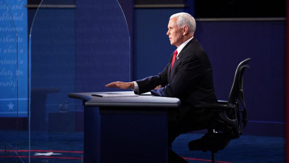 Mike Pence, Peerless Trump Defender, Confronts His Limits in Debate