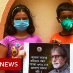 Amitabh Bachchan: Indian fans pray for Bollywood star to beat Covid-19