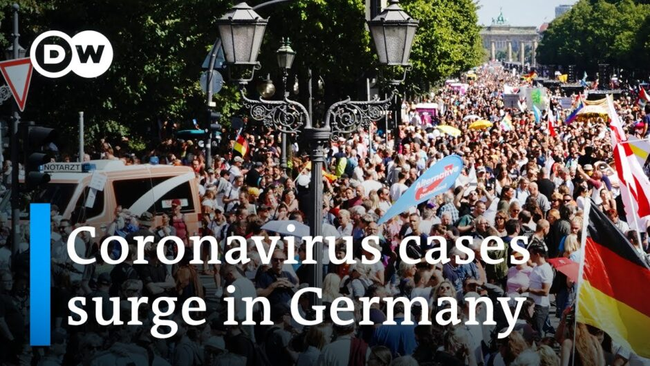 Berlin police try to shut down protest against coronavirus restrictions   DW News