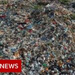 India's growing Covid-19 waste challenges workers – BBC News