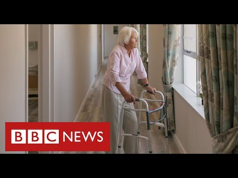 """Relatives say ban on care home visits is """"breach of human rights"""" and plan legal action – BBC News"""
