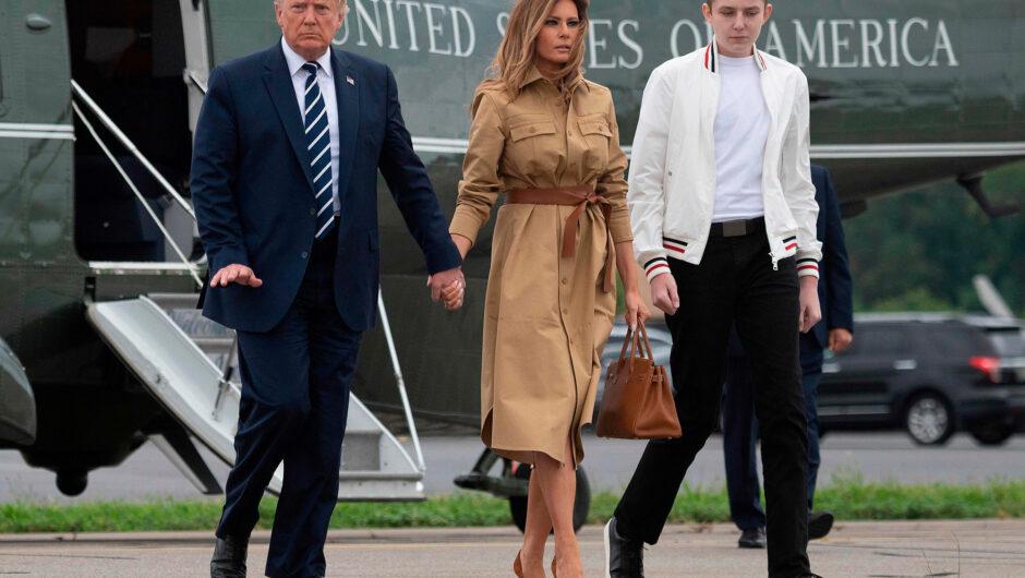 Barron Trump also contracted COVID-19, Melania Trump reveals