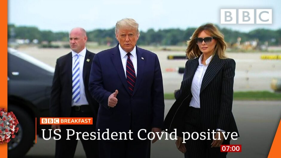 Trump and first lady test positive for coronavirus @BBC News LIVE on iPlayer 🔴 – BBC