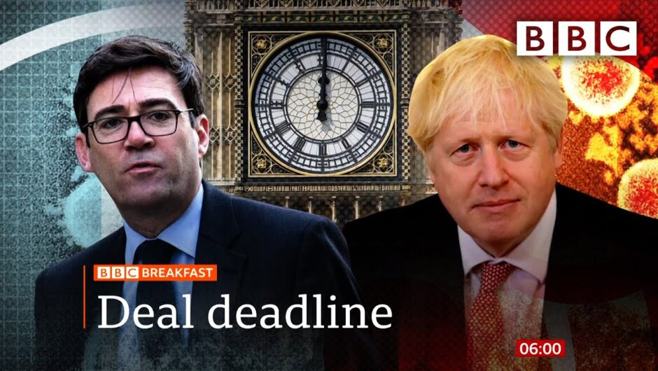 Covid: Noon deadline approaches for Manchester coronavirus deal 🔴 @BBC News – BBC