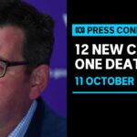 #LIVE: Twelve new cases of COVID-19 and one death recorded in Victoria | ABC News