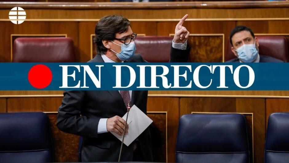 DIRECTO CORONAVIRUS MADRID | Salvador Illa comparece en el pleno del Congreso