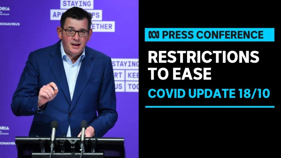 #LIVE: Victorian Government announces easing of COVID-19 restrictions | ABC News