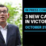#LIVE: Victoria records three new coronavirus cases | ABC News