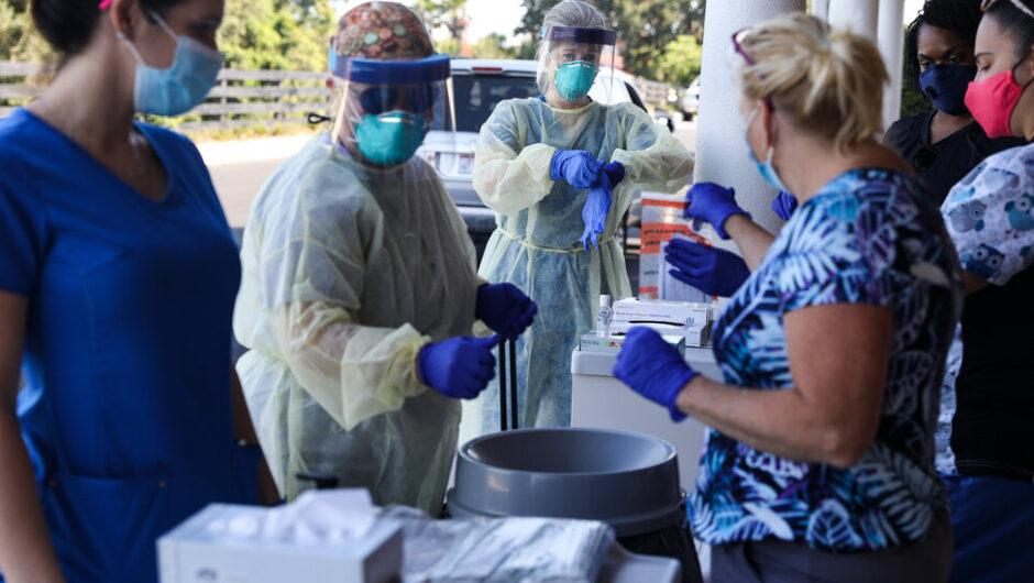 U.S. Sets Coronavirus Case Record Amid New Surge