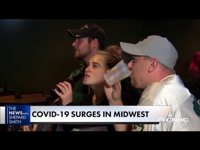 Covid-19 cases are spiking in the Midwest and local hospitals are concerned