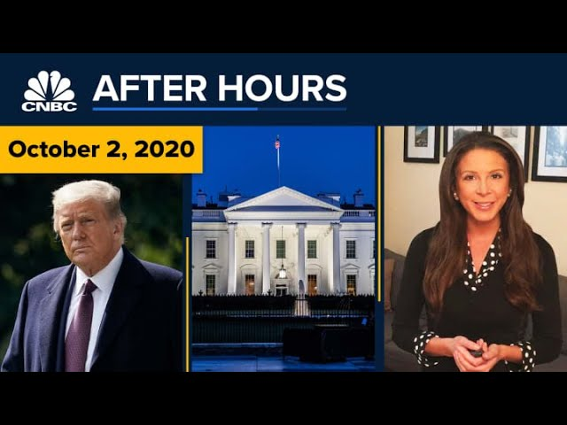 President Trump taken to the hospital with Covid-19 — what now? CNBC After Hours