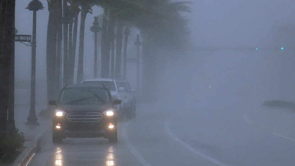 Tropical Storm Eta Makes Landfall in the Florida Keys After Strengthening