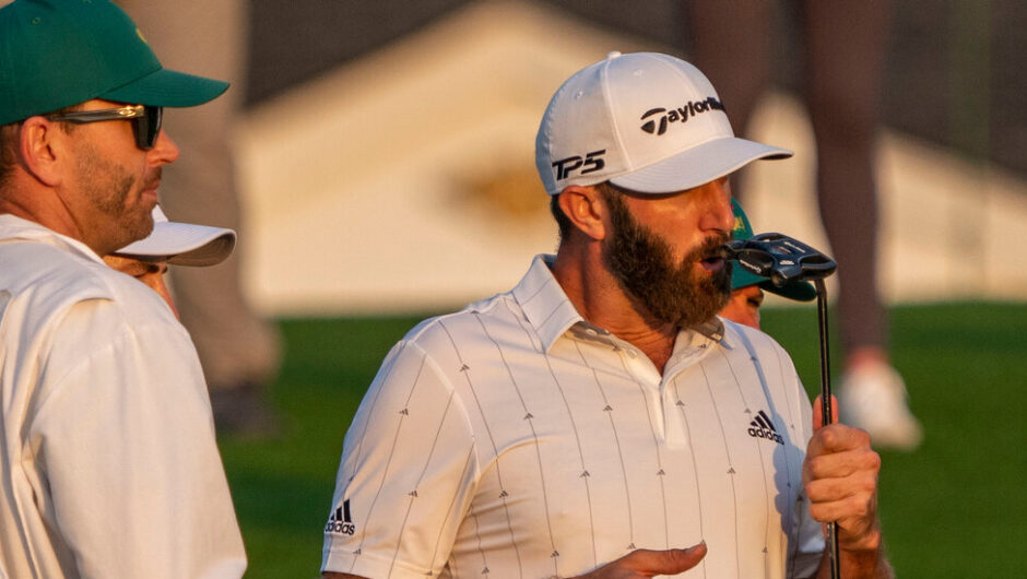 Dustin Johnson Widens Masters Lead and Eyes Scoring Record