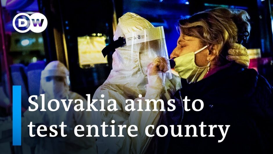 Slovakia moves to test entire population for coronavirus   DW News