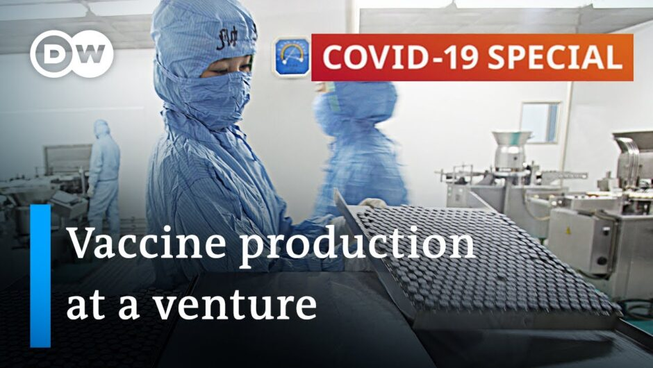 Large-scale coronavirus vaccine production is already underway | COVID-19 Special