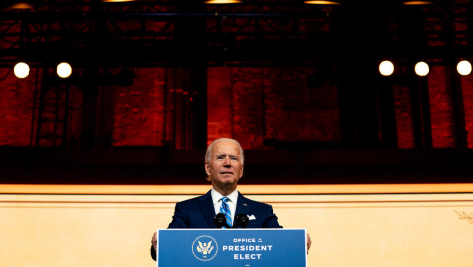 Presidential Transition Live Updates: Biden's Economic Picks Advocate Worker Empowerment