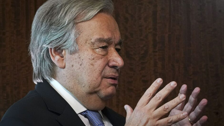 UN chief urges global fight against pandemic and hatred