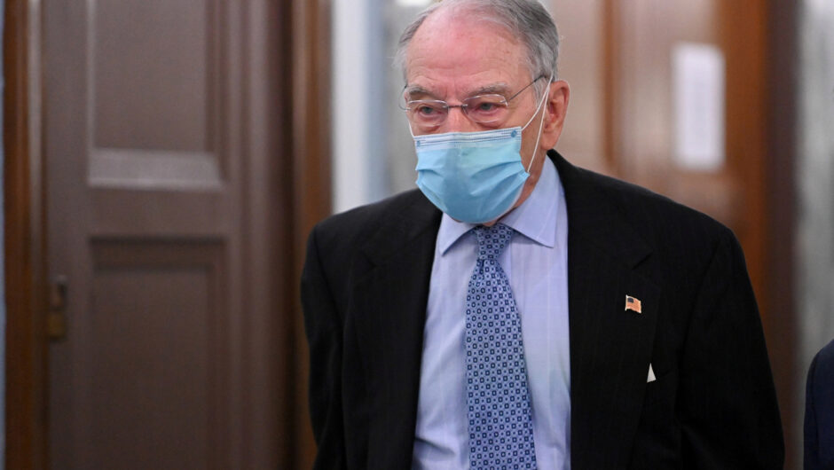 Sen. Chuck Grassley, 87, reveals positive COVID-19 diagnosis