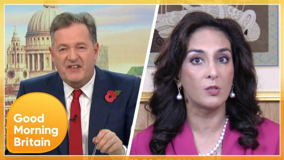 Very Heated Clash over Donald Trump's Handling of the Coronavirus Pandemic | Good Morning Britain