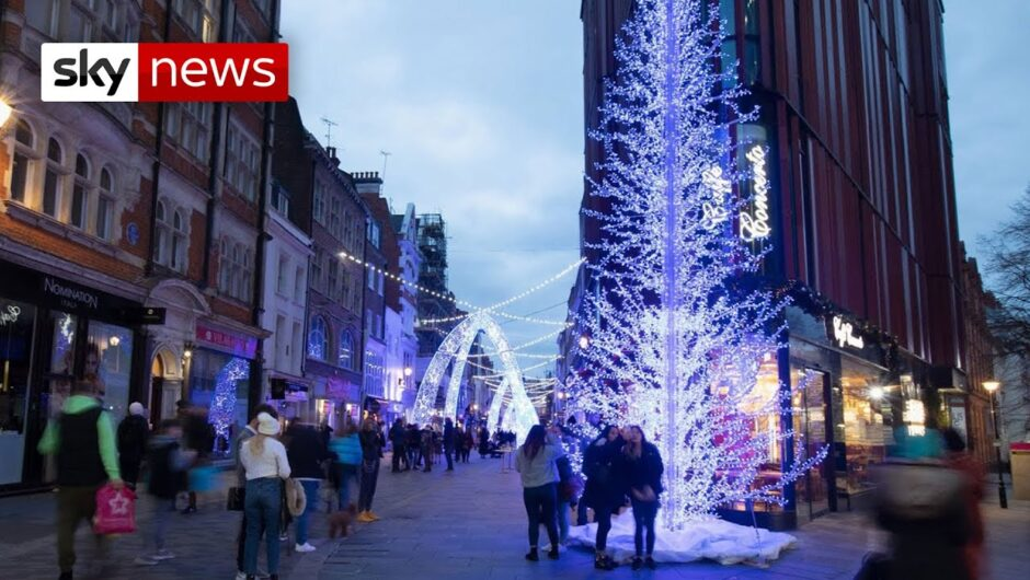 COVID-19 UK: Lockdown set to be eased over Christmas