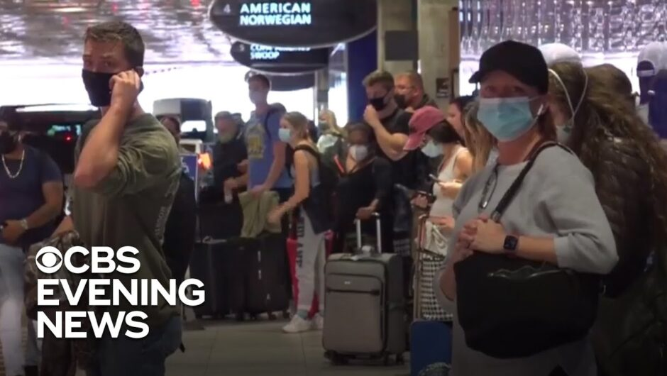 Millions ignore travel warning amid coronavirus surge