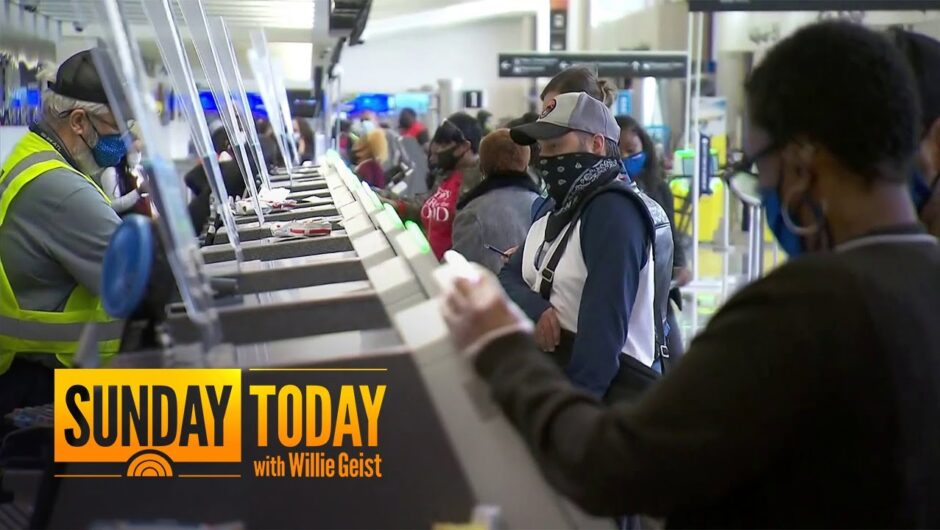 After Thanksgiving Travel, Experts Fear New Wave Of COVID-19 Infections | Sunday TODAY