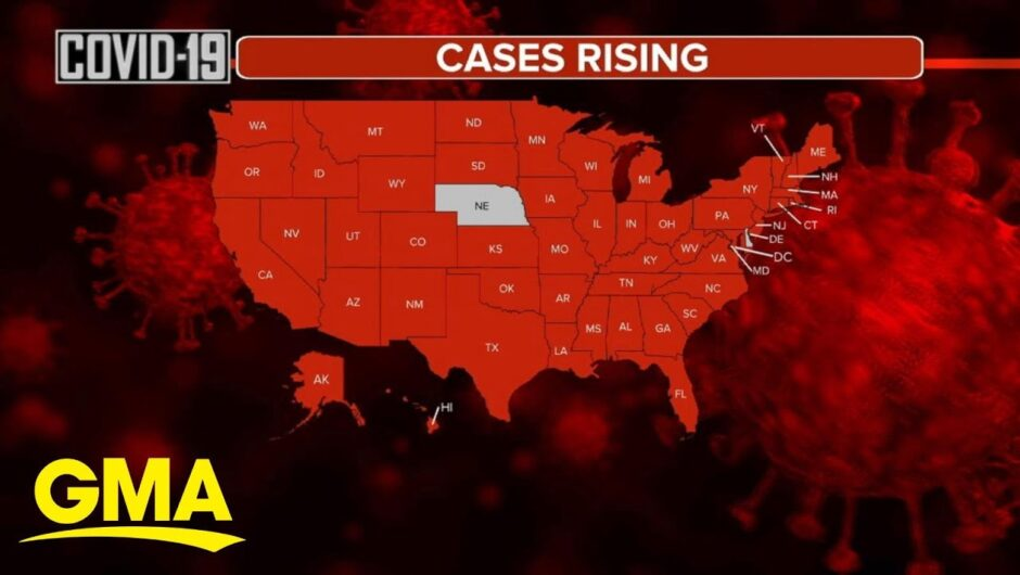 COVID-19 cases continue to surge across the US | GMA