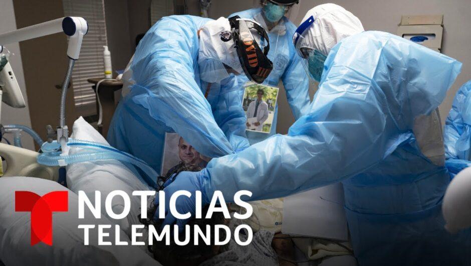 Estados Unidos alcanza un nuevo récord de hospitalizaciones por coronavirus | Noticias Telemundo