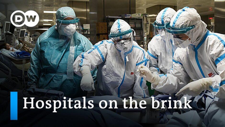 Coronavirus in Europe: Intensive care units under strain   DW News