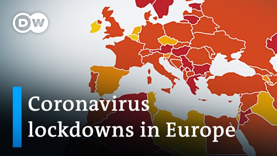 Coronavirus Update: Europe struggles lowering infection numbers | DW News
