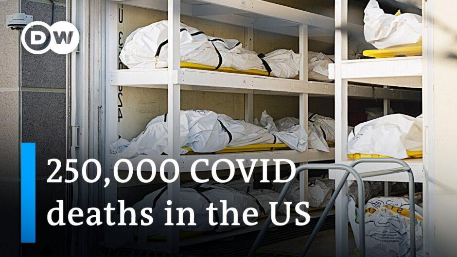 Coronavirus Update: US death toll passes next grim milestone   DW News