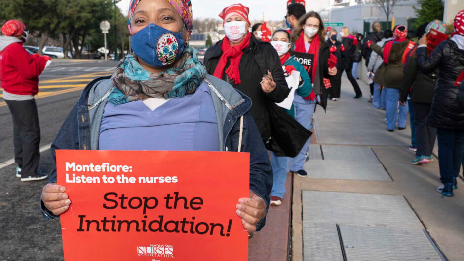 Nurses at New Rochelle hospital strike amid COVID-19 surge
