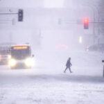 Winter Storm Brings Christmas Eve 'Travel Nightmare'