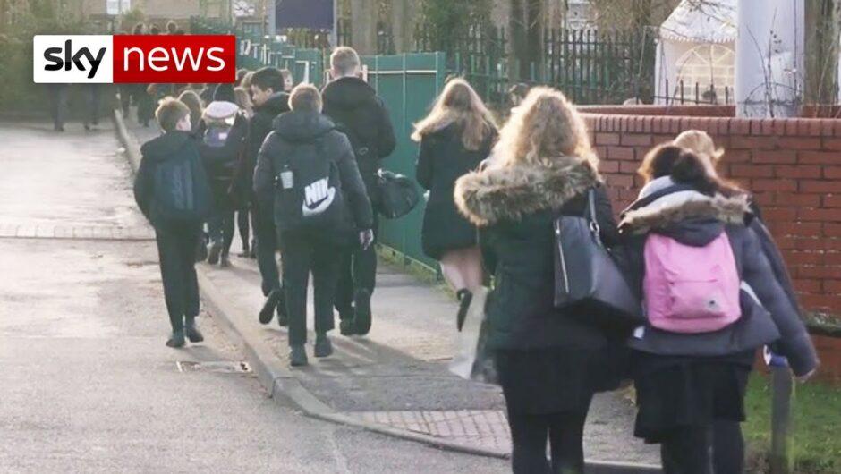 COVID-19 UK: Will schools be closed over new coronavirus variant?