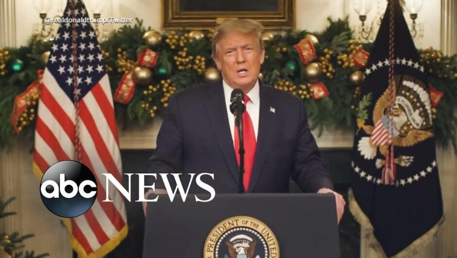 Trump says he will not sign COVID-19 relief bill without changes