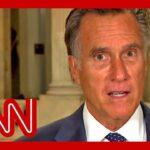 Mitt Romney blasts Trump's lack of pandemic leadership