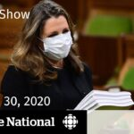 CBC News: The National | Fiscal plan for COVID-19 in Canada | Nov. 30, 2020