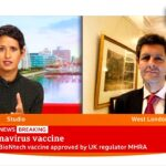 UK first country to approve coronavirus vaccine for widespread use 🔴 @BBC News live – BBC