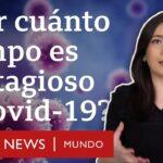 ¿Cuándo un enfermo de covid-19 deja de ser contagioso? | BBC Mundo
