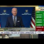 President-elect Joe Biden delivers remarks on Covid-19 pandemic and relief