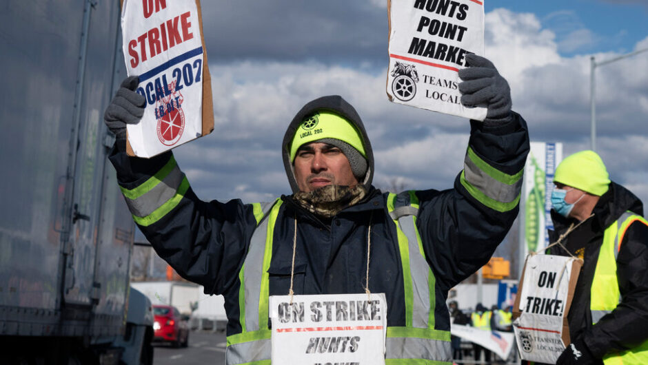 Strike at Largest U.S. Wholesale Produce Market Threatens Supply Chain