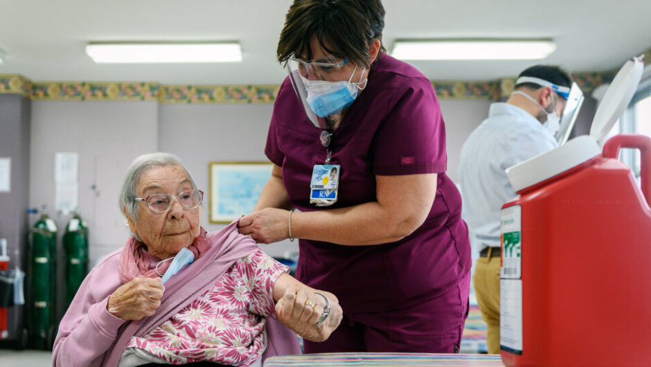 As Vaccine Arrives at a Nursing Home: 'I Hope Everybody Takes It'