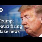 Trump defends coronavirus record as US cases top 600,000 | DW News