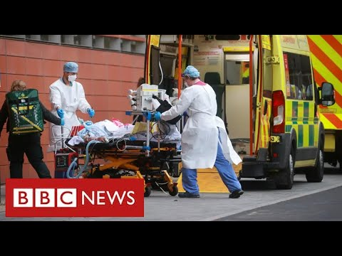 "UK announces record Covid deaths as hospitals ""overwhelmed"" – BBC News"