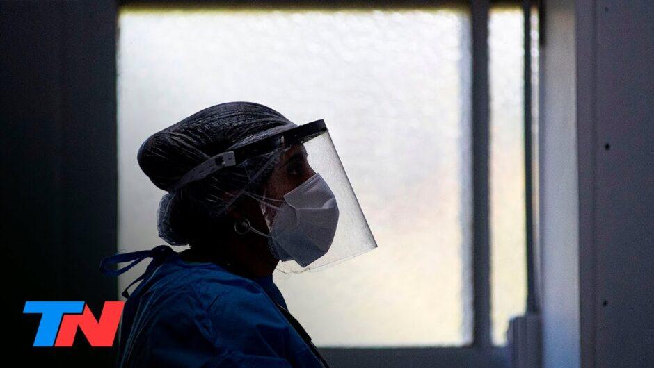 Coronavirus en la Argentina | Informaron 20.906 nuevos casos y 212 muertes en los últimos tres días