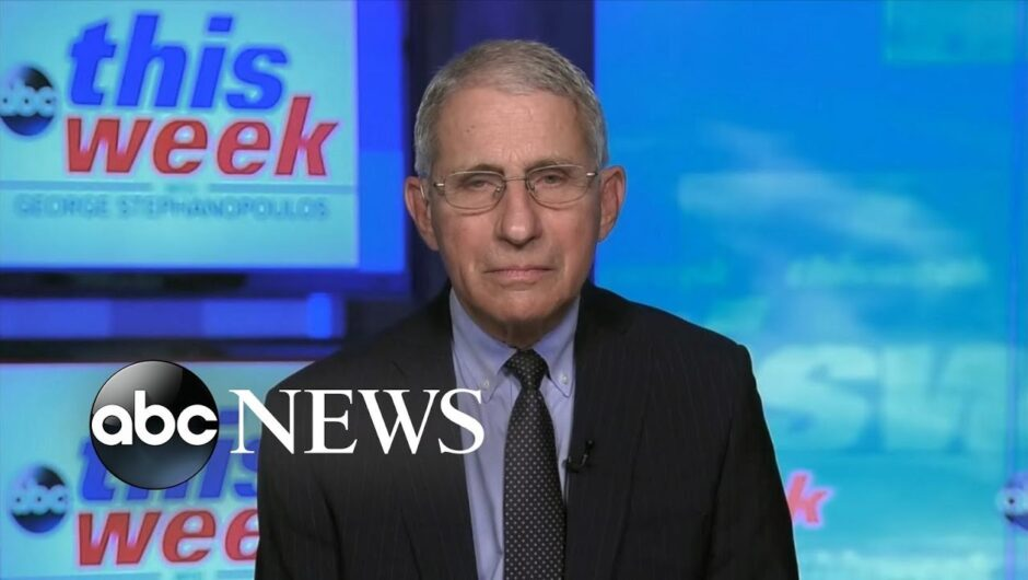 'There is no running away from the numbers': Fauci on COVID-19 surge | ABC News