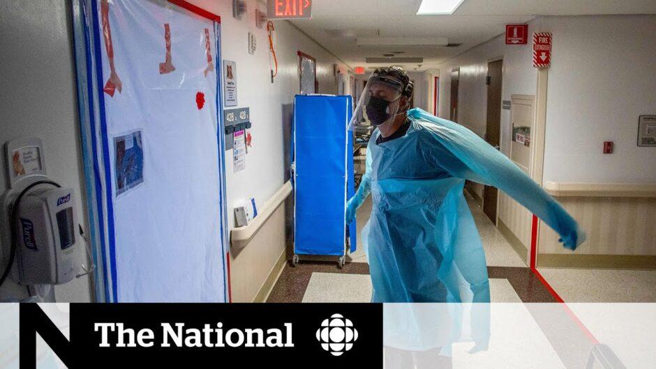 COVID-19 cases overwhelm California hospitals