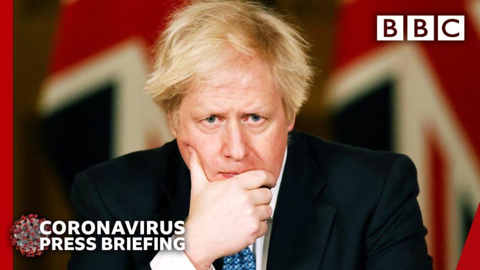 Boris Johnson explains Covid-19 vaccine rollout plan 🔴 Covid update @BBC News live – BBC